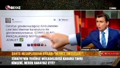 Osman Gökçek nefret tweetlerini bir bir gösterdi