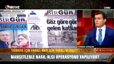 Osman Gökçek basındaki algı operasyonunu gözler önüne serdi