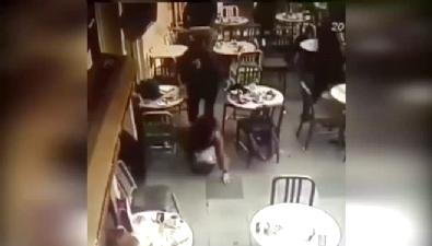 Nişantaşı'ndaki silahlı saldırı kamerada