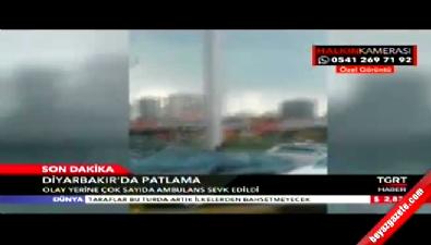 Görgü tanığı Diyarbakır'daki patlamayı anlattı