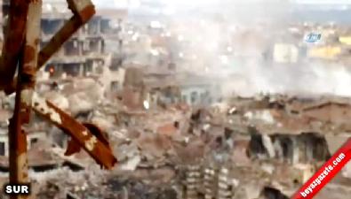 Şırnak ve İdil'deki şiddetli patlama kameralara yansıdı
