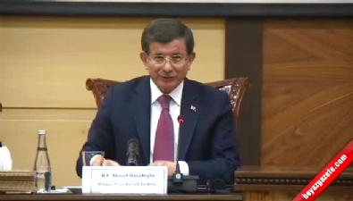 Başbakan Türkiye-İran iş forumunda konuştu