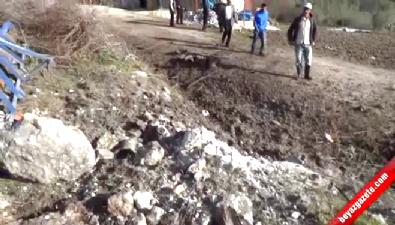 Suriye'den Gelen 3 Havan Topu Hatay'a Düştü