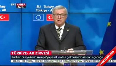 Juncker: Vize serbestisi Haziran'dan önce uygulanablir