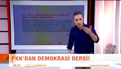 Katil teröristten 'Demokrasi mesajı!'
