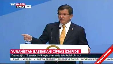 Başbakan Davutoğlu: Ege'nin iki yakasını bir araya getireceğiz