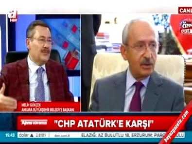 Melih Gökçek: CHP Alevi bir parti oldu
