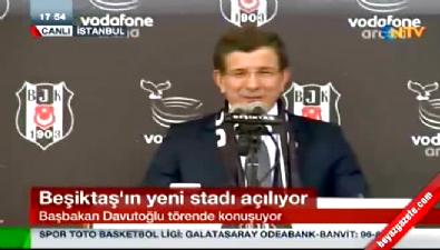 Başbakan Davutoğlu: Beşiktaş devletiyle yürüdü