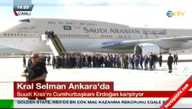 Suudi Arabistan Kralı Selman bşn Abdülaziz Türkiye'ye geldi