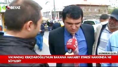 Vatandaş Kılıçdaroğlu'nun seviyesiz üslubuna ne dedi? (18)