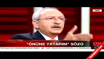 Kılıçdaroğlu o skandal sözleri yine savundu