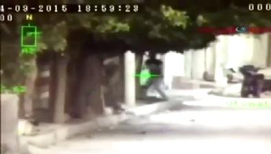 İşte PKK'lı teröristin vurulma anı