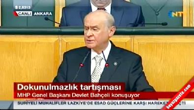 Devlet Bahçeli: HDP'nin turşusunu mu kuracağız?