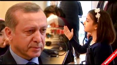 Küçük kızın 'Ey Sevgili' şiiri Erdoğan'ı ağlattı