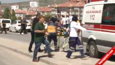 silahli kavga - Ankara Hüseyin Gazi'de İş yerine silahlı baskın: 9 yaralı
