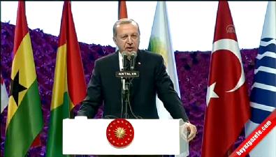 Cumhurbaşkanı Erdoğan'ın EXPO 2016 konuşması