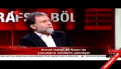 Çocuklardan Ahmet Hakan'a zor soru