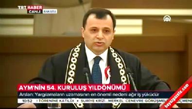 AYM Başkanı Arslan'dan bireysel başvuru açıklaması