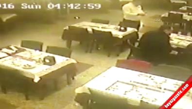 Restoranda akıl almaz cinayet