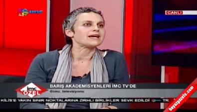 Terör destekçisi akademisyen İMC TV'de yine devleti suçladı