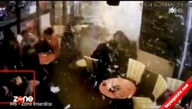 130 kişinin öldüğü Paris bombacısının kendini patlattığı o anlar ilk kez yayınlandı