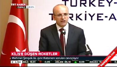 Mehmet Şimşek'ten Kilis açıklaması