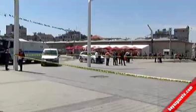 Taksim Meydanı'nda Şüpheli Çanta Paniği