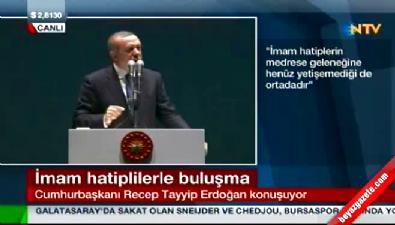 Erdoğan: Türkiye'nin umudu sizlersiniz