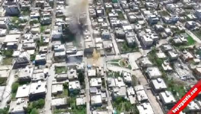 Hainler çocuk parkının önüne bile bomba tuzaklamışlar!