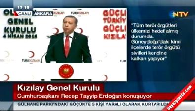 Cumhurbaşkanı Erdoğan: Son terörist imha edilinceye kadar buna devam edeceğiz