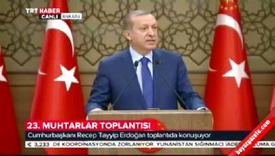 Erdoğan: Tuzaklı bina uzaktan patlatılmalı