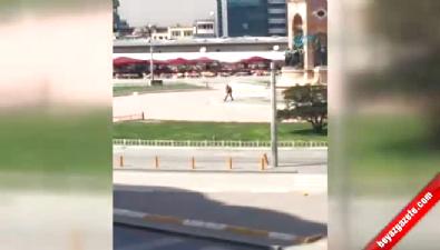 Taksim Meydanı'ndaki silahlı kişi etkisiz hale getirildi