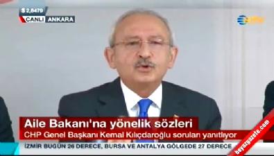 Kılıçdaroğlu yine ağzını bozdu