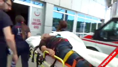 Domuza attı arkadaşını vurdu