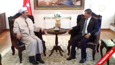 Başbakan Davutoğlu'ndan Diyanet'e veda ziyareti
