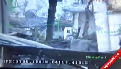 PKK'lı teröristin vurulma anı kamerada