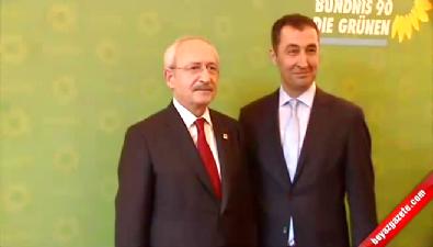 Kılıçdaroğlu Cem Özdemir ile bir araya geldi
