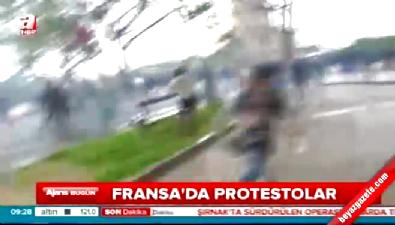 Fransa'da gösteriler ülke geneline yayıldı