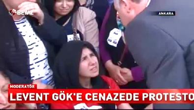 CHP'li Levent Gök şehit cenazesinde protesto edildi