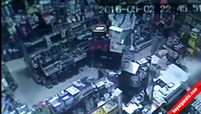 Sadaka hırsızları kamerada