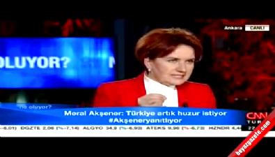 Meral Akşener: O çocukların arkasında durdum