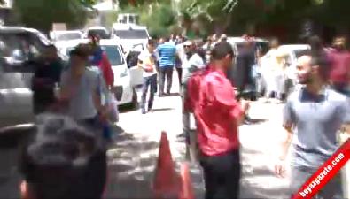 Sur'da HDP heyetine tepki