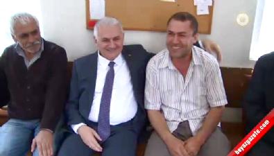 Başbakan Binali Yıldırım Taksi Durağını Ziyaret Etti