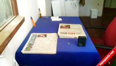 Fatma öğretmeni öldüren Atalay F.'nin kaldığı odanın görüntüleri ortaya çıktı
