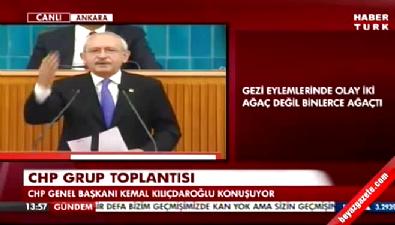 Kılıçdaroğlu'ndan Gezi çıkışı