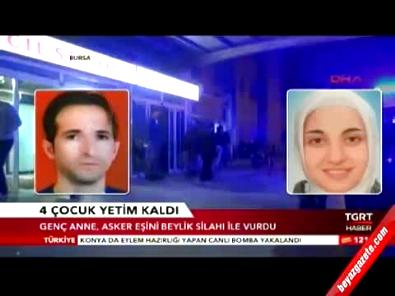 Genç kadın bulaşık kavgasında 'uzman çavuş' eşini öldürdü