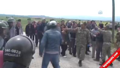 Kahramanmaraş'ta çadır kent gerginliği