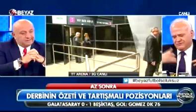 Ahmet Çakar tartışmalı pozisyonu değerlendirdi