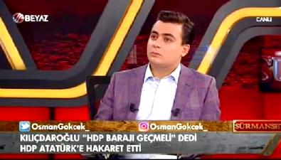 Osman Gökçek: HDP'liler Atatürk'e küfrediyor, CHP'lilerin sesi çıkmıyor