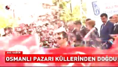 Osmanlı Halk Pazarı açılış töreni